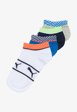 BOYS STRIPE 4 PACK - Chaussettes - blue/grey