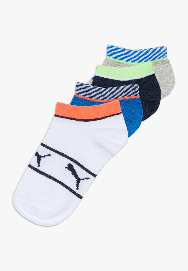 BOYS STRIPE 4 PACK - Socks - blue/grey