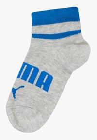 Puma - BOYS QUARTER 4 PACK - Socks - blue/grey - 2