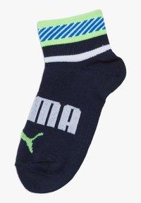 Puma - BOYS QUARTER 4 PACK - Socks - blue/grey - 3