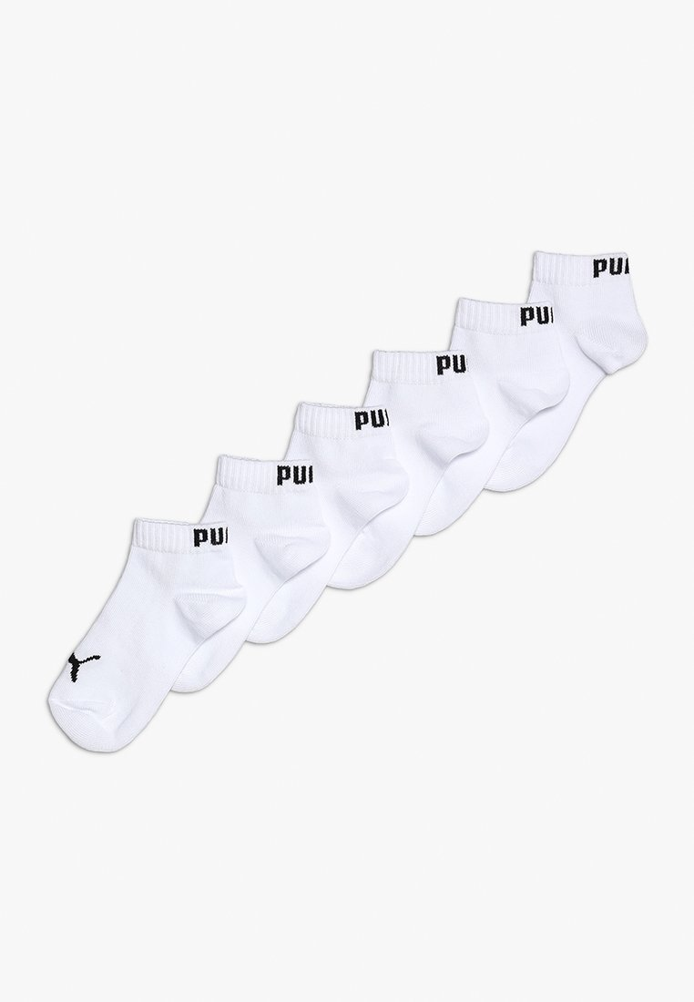 Puma - QUARTER 6 PACK - Socks - white
