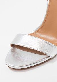 Pura Lopez - Sandaler med høye hæler - silver - 2