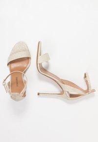 Pura Lopez - High heeled sandals - glitter platin - 3