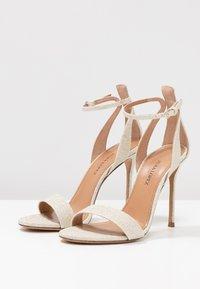 Pura Lopez - High heeled sandals - glitter platin - 4