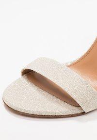 Pura Lopez - High heeled sandals - glitter platin - 2