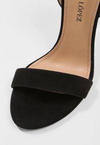 Pura Lopez - Sandály na vysokém podpatku - black - 6