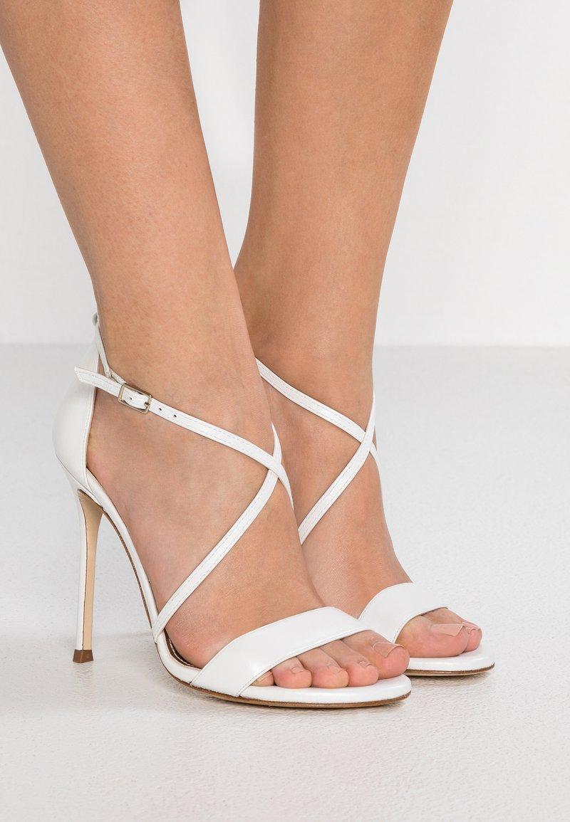Pura Lopez - High heeled sandals - glow bone