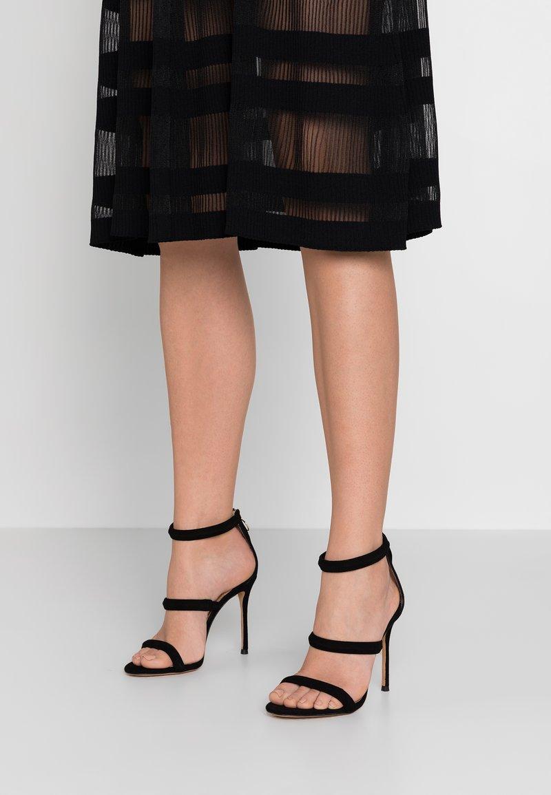 Pura Lopez - Sandály na vysokém podpatku - black