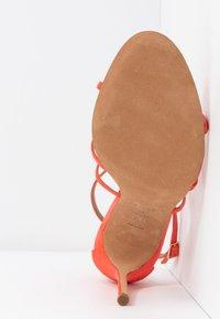 Pura Lopez - Højhælede sandaletter / Højhælede sandaler - poppy - 6