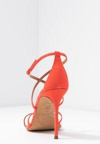 Pura Lopez - Højhælede sandaletter / Højhælede sandaler - poppy - 5