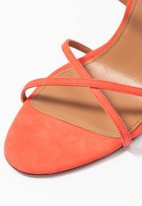 Pura Lopez - Højhælede sandaletter / Højhælede sandaler - poppy - 2