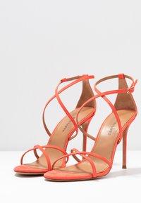 Pura Lopez - Højhælede sandaletter / Højhælede sandaler - poppy - 4