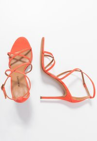 Pura Lopez - Højhælede sandaletter / Højhælede sandaler - poppy - 3
