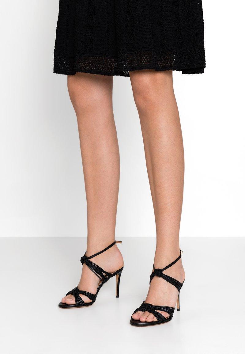Pura Lopez - High heeled sandals - black