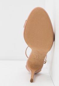 Pura Lopez - Sandály na vysokém podpatku - nude - 6