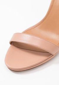 Pura Lopez - Sandály na vysokém podpatku - nude - 2