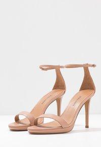 Pura Lopez - Sandály na vysokém podpatku - nude - 4