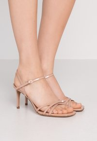 Pura Lopez - High heeled sandals - nude - 0