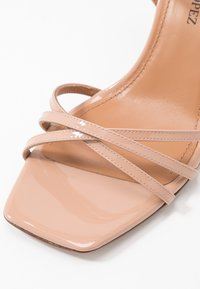 Pura Lopez - High heeled sandals - nude - 2