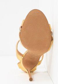 Pura Lopez - Sandalias de tacón - mirror gold - 6