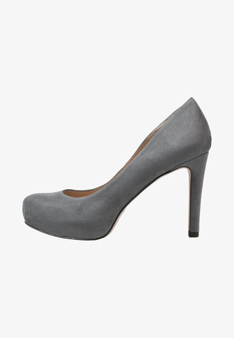 Pura Lopez - Klassiska pumps - grey
