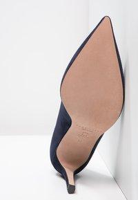 Pura Lopez - Zapatos altos - navy - 5