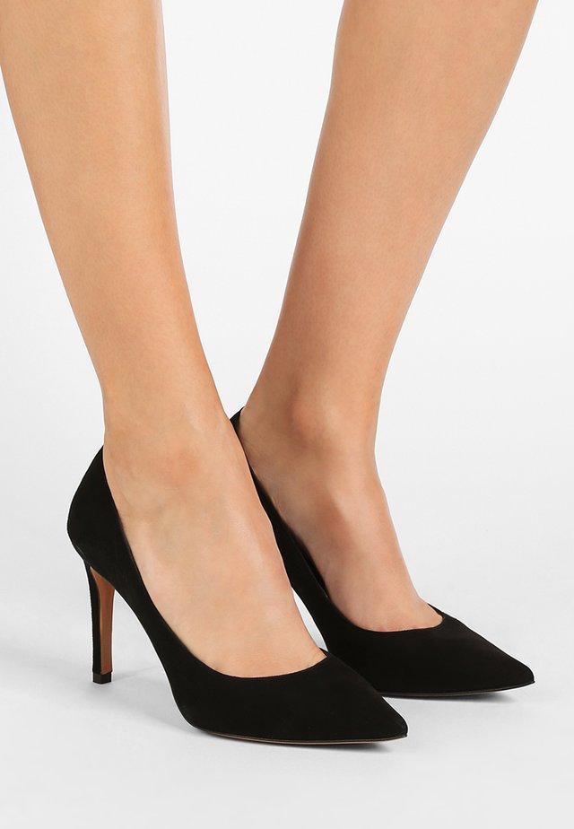 Høye hæler - black