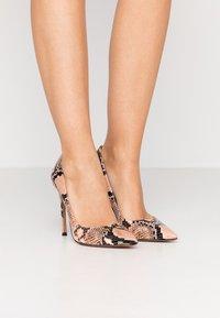Pura Lopez - Zapatos altos - pink - 0
