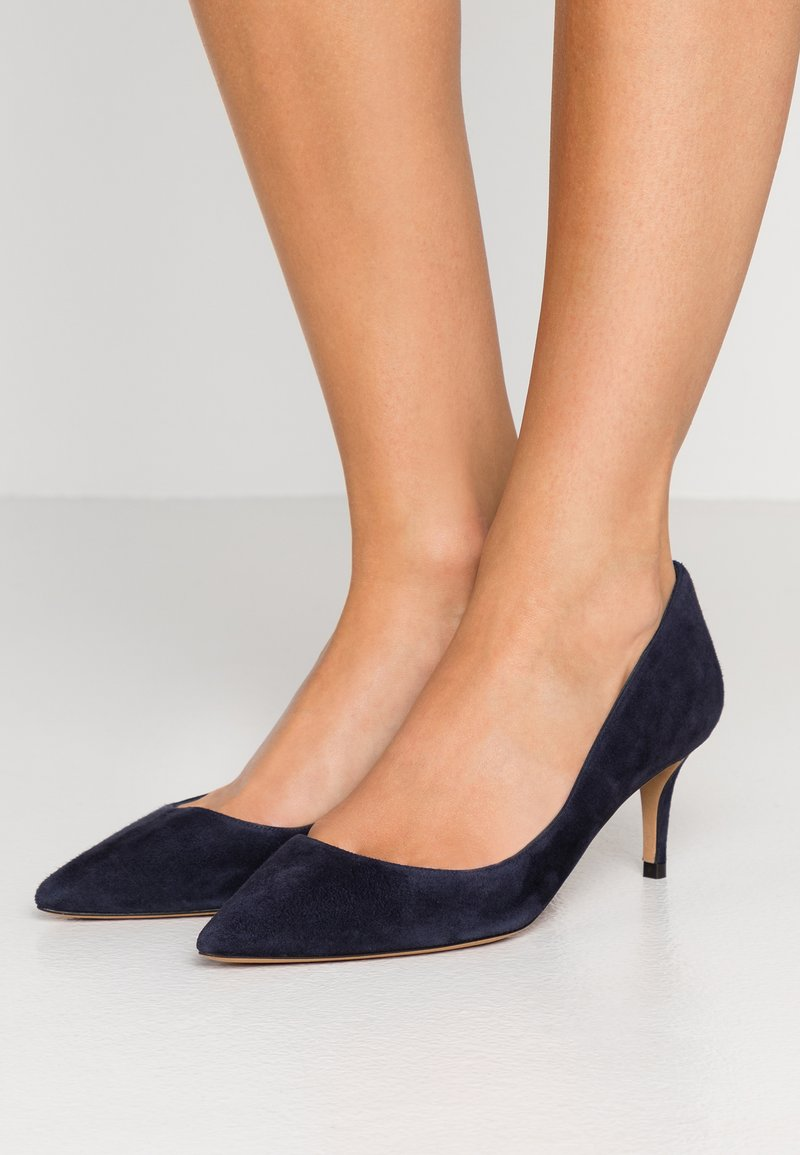 Pura Lopez - Klassiske pumps - navy