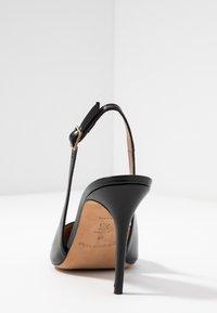 Pura Lopez - Lodičky na vysokém podpatku - black - 5