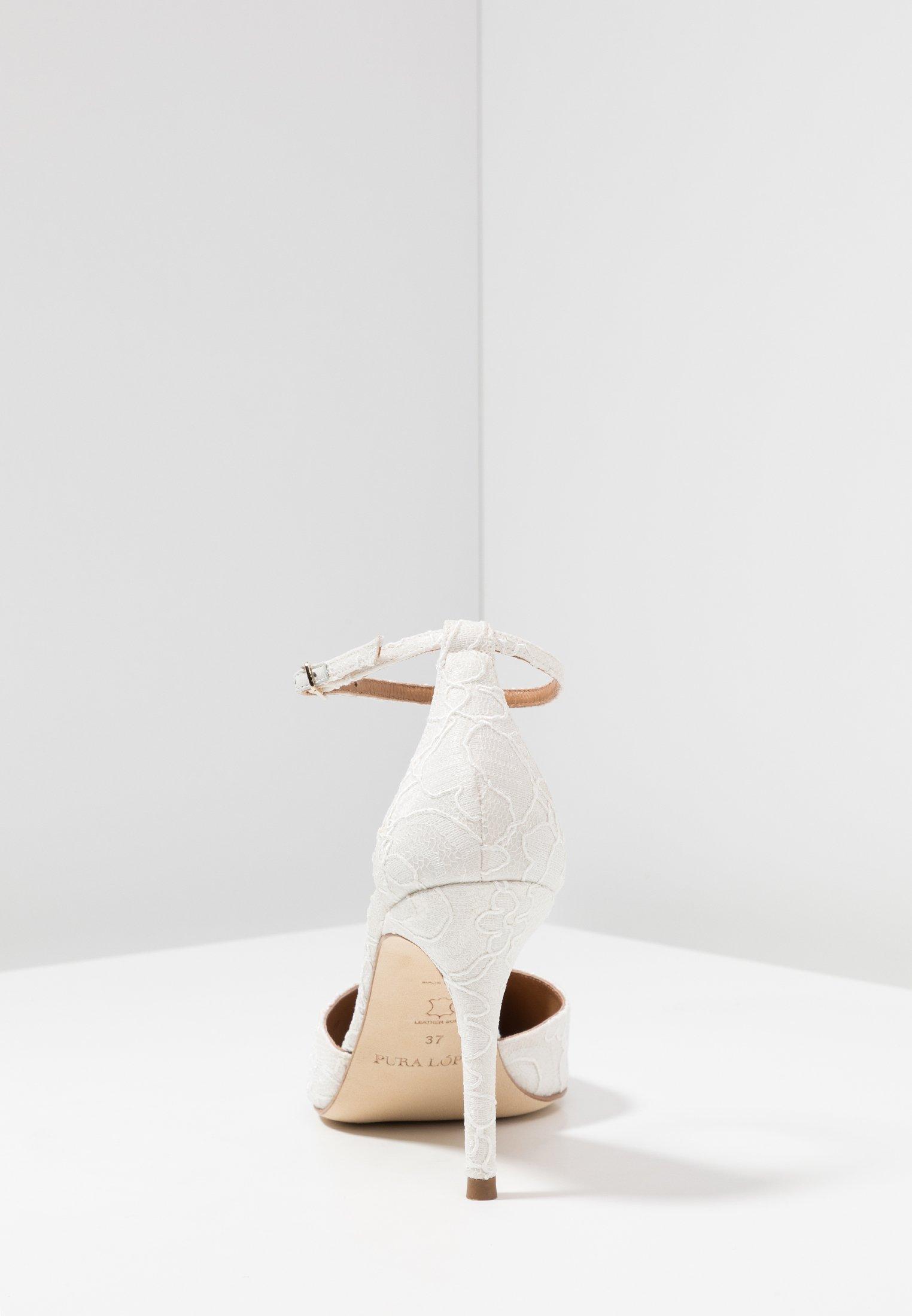 Pura Lopez Decolleté - Bone