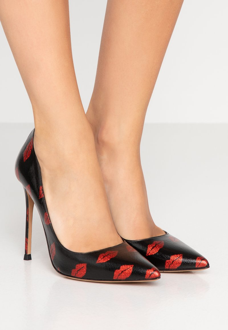 Pura Lopez - High heels - black/red