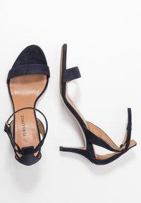 Pura Lopez - Sandals - navy - 3