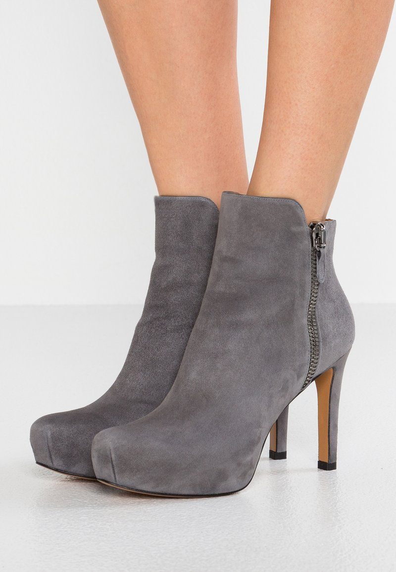 Pura Lopez - High heeled ankle boots - grey