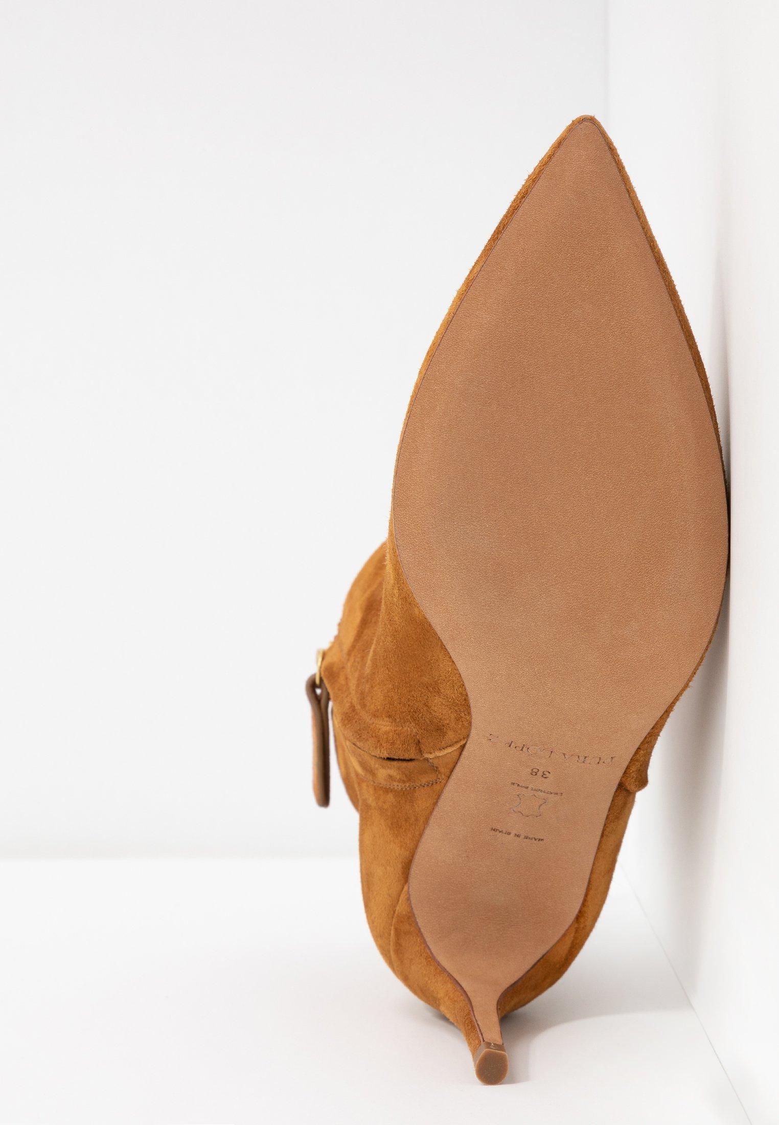 Boots à chesnut Lopez talons Pura XuPkiOZ