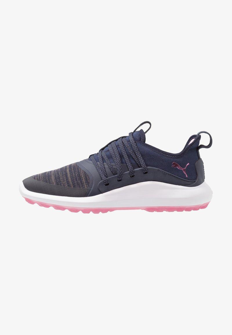 Puma Golf - IGNITE NXT SOLELACE - Zapatos de golf - peacoat/metallic pink