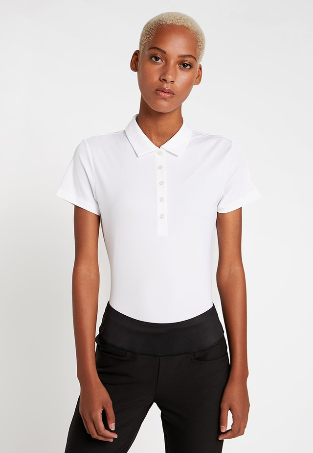 POUNCE CRESTING - Sports shirt - bright white
