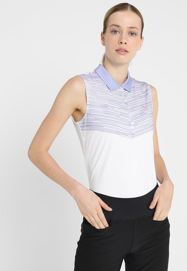 CHEVRON SLEEVELESS - Treningsskjorter - sweet lavender