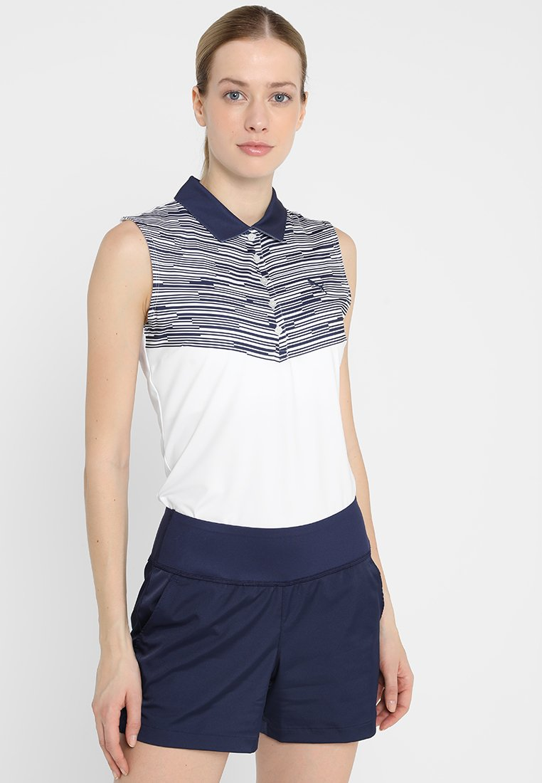 Puma Golf - CHEVRON SLEEVELESS - Sports shirt - peacoat