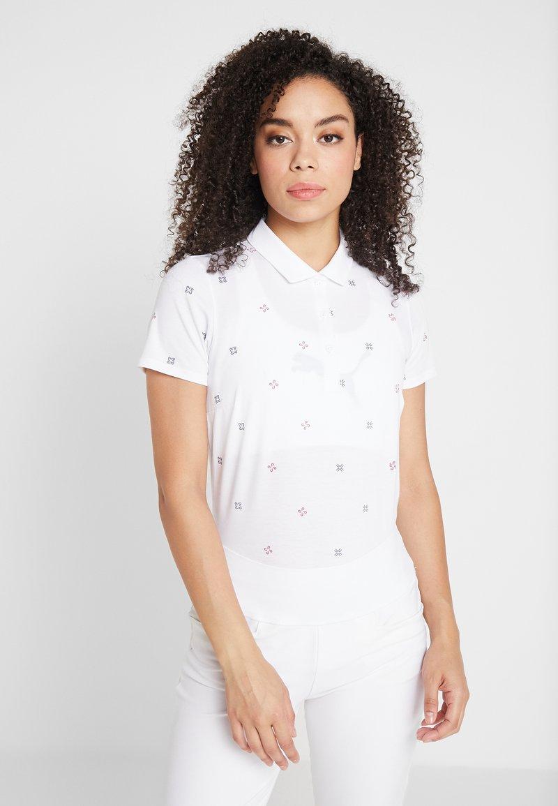 Puma Golf - DITSY - Polo shirt - bright white
