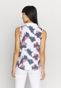 Puma Golf - FLORAL SLEEVELESS POLO - Sports shirt - dark denim