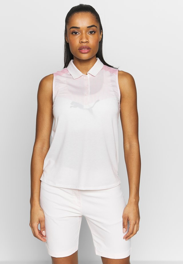 VERTICALS SLEEVELESS - Sports shirt - rosewater