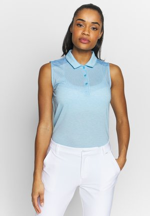VERTICALS SLEEVELESS - Sports shirt - ethereal blue heather