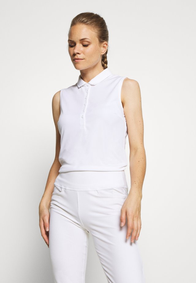 ROTATION SLEEVELESS - Treningsskjorter - bright white