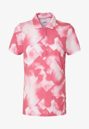 SOFT GEO - Funkční triko - rapture rose
