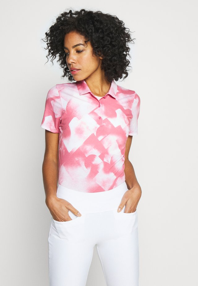 SOFT GEO - Sportshirt - rapture rose
