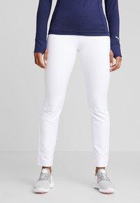 Puma Golf - PWRSHAPE PULL ON PANT - Outdoorbroeken - bright white - 0