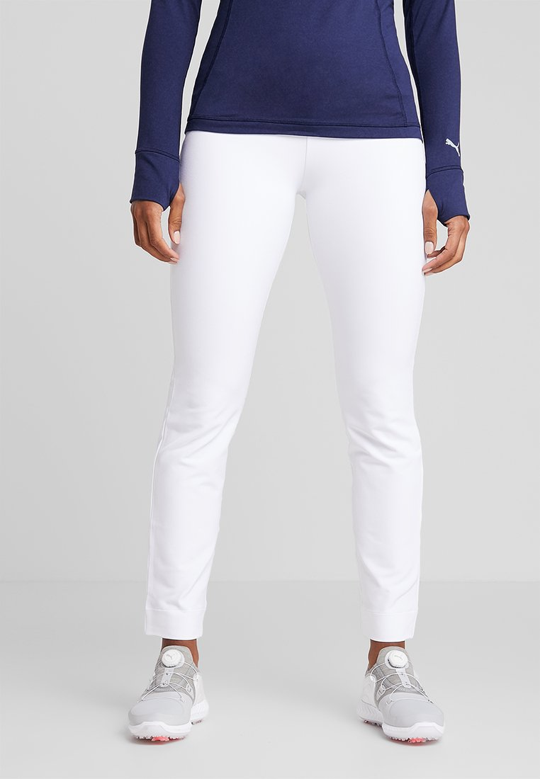 Puma Golf - PWRSHAPE PULL ON PANT - Outdoorbroeken - bright white