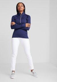 Puma Golf - PWRSHAPE PULL ON PANT - Outdoorbroeken - bright white - 1