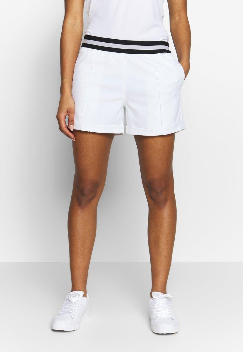 Puma Golf - ELASTIC  - Outdoorové kraťasy - bright white